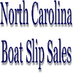 North Carolina Boat Slip Sales