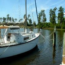 North Carolina Deeded Deep Water Boat Slips Oriental North Carolina