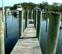 Whittaker Pointe Marina North Carolina Boat Slip C - 40   www.carolianwaterfrontonline.com