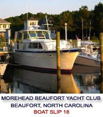 Morehead Beaufort Yacht Club Beaufort North Carolina   www.carolinawaterfrontonline.com