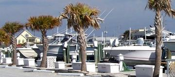 Crow's Nest Yacht Club Atlantic Beach North Carolina Boat Slips Sales   www.carolinawaterfrontonline.com